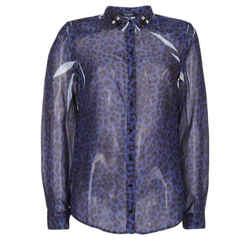 Kleidung Damen Hemden Guess BORICE Blau