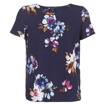 Kleidung Damen Tops / Blusen Vero Moda VMBALI Marine