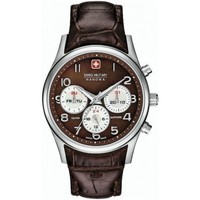 Uhren Damen Analoguhren Swiss Military Hanowa Navalus Multifunction Lady 06-6278.04.005 braun