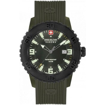 Uhren Herren Analoguhren Swiss Military Hanowa Twilight II 06-4302.24.024 grün
