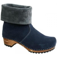 Schuhe Damen Boots Sanita Wood-Charlotta Boot Navy/Grey