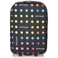 Taschen flexibler Koffer David Jones PICOLO 35L Schwarz / Multifarben