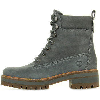 Schuhe Damen Boots Timberland Courmayeur Valley YB Dark Grey Grau