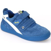 Schuhe Kinder Sneaker Low Lurchi Bruce Royal Blue Suede