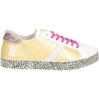 Schuhe Damen Sneaker Low Date D.a.t.e. HILL LOW-22E Niedrige Sneakers Damen Gold Gold