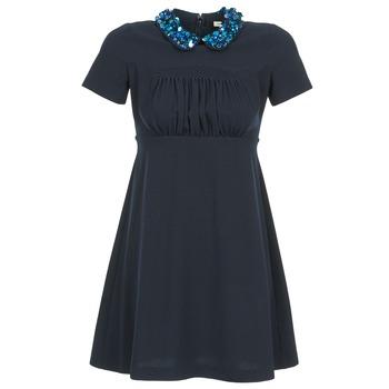 Kleidung Damen Kurze Kleider Manoush COMMUNION Blau