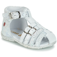 Schuhe Mädchen Sandalen / Sandaletten GBB SAMIRA Weiss / Dpf / Zabou