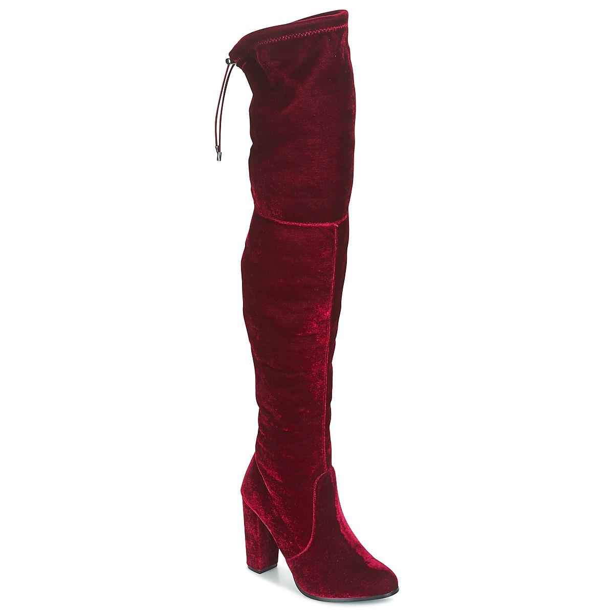 Buffalo  Rot - Kostenloser Versand bei Spartoode ! - Schuhe Kniestiefel Damen 69,90 €