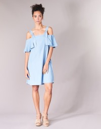 Kleidung Damen Kurze Kleider Guess RACUNO Blau