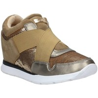 Schuhe Damen Sneaker Low Guess Fllay4 Fab12 Sneaker gold