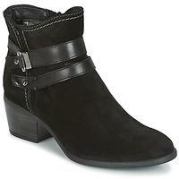 Schuhe Damen Low Boots Tamaris ABERBER Schwarz
