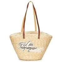 Taschen Damen Shopper / Einkaufstasche Les Tropéziennes par M Belarbi MILOS Beige