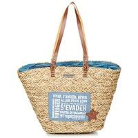 Taschen Damen Shopper / Einkaufstasche Les Tropéziennes par M Belarbi AGAY Beige / Blau