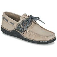 Schuhe Herren Bootsschuhe TBS GLOBEK Beige
