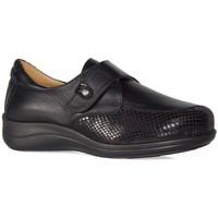 Schuhe Damen Halbschuhe Calzamedi SCHUHE  TEXTUR STRETCH W BLACK