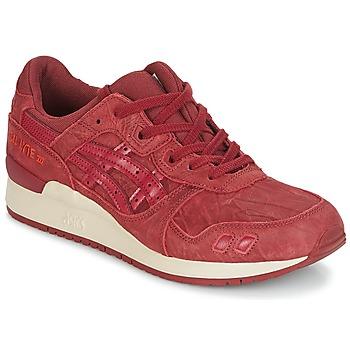 Schuhe Herren Sneaker Low Asics GEL-LYTE III Bordeaux