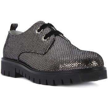 Schuhe Mädchen Derby-Schuhe Nero Giardini NERO GIARDINI  MERCURY VIP CARBONE Grigio