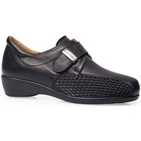 Schuhe Damen Derby-Schuhe Calzamedi SCHUHE  STRETCH LEDER W SCHWARZ