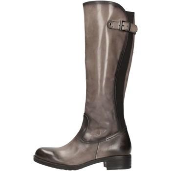 Schuhe Damen Klassische Stiefel Donna Più DONNAPIU' 08254 Stiefel Frau Asphalt Asphalt