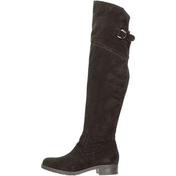 Schuhe Damen Klassische Stiefel Donna Più DONNAPIU' 6590 Stiefel Frau Schwarz Schwarz