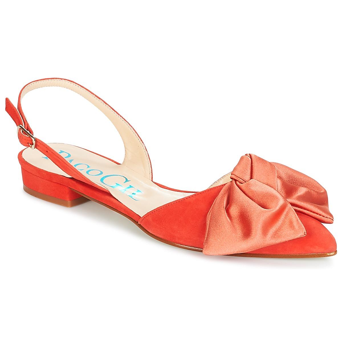 Paco Gil MARIE TOFLEX Rot - Kostenloser Versand bei Spartoode ! - Schuhe Sandalen / Sandaletten Damen 132,00 €