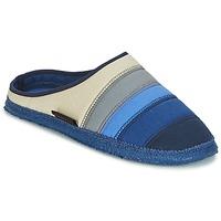 Schuhe Damen Hausschuhe Giesswein AZUSA Blau / Beige