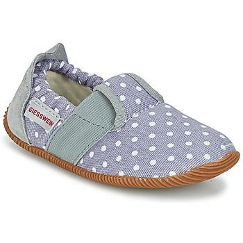 Schuhe Mädchen Hausschuhe Giesswein SILZ - SLIM FIT Grau