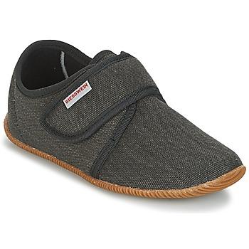 Schuhe Kinder Hausschuhe Giesswein Senscheid Grau
