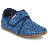Schuhe Kinder Hausschuhe Giesswein SENSCHEID Blau