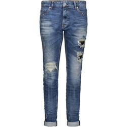 Kleidung Damen Boyfriend Jeans Mac Girlfriend blau