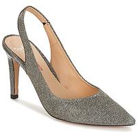 Schuhe Damen Sandalen / Sandaletten Perlato POLADINN Silbern