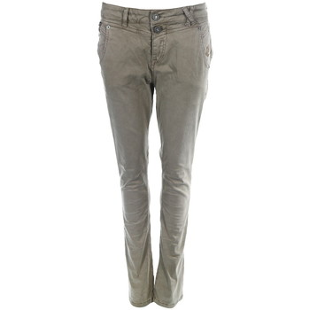 Kleidung Damen Slim Fit Jeans Amor Trust & Truth Kira taupe