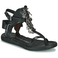 Schuhe Damen Sandalen / Sandaletten Airstep / A.S.98 RAMOS Schwarz