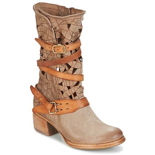 Airstep / A.S.98 CRUZ Beige Schuhe Boots Damen 239,20