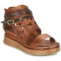 Schuhe Damen Sandalen / Sandaletten Airstep / A.S.98 LAGOS Braun