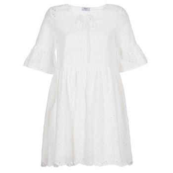 Kleidung Damen Kurze Kleider Betty London INNATU Weiss