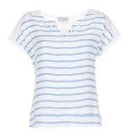 Kleidung Damen Tops / Blusen Casual Attitude IYUREOL Weiss / Blau