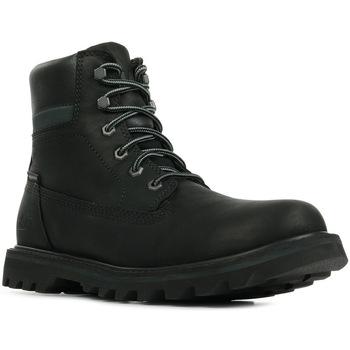 Schuhe Herren Boots Caterpillar Deplete Wp Schwarz