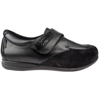 Schuhe Damen Halbschuhe Calzamedi SCHUHE  VELCRO BRILLANTES W BLACK