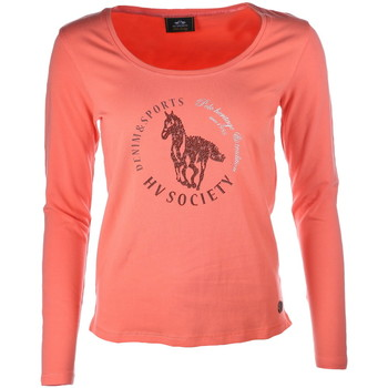 Kleidung Damen Langarmshirts Hv Society Ange orange