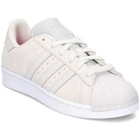Schuhe Damen Sneaker Low adidas Originals Originals Superstar Beige