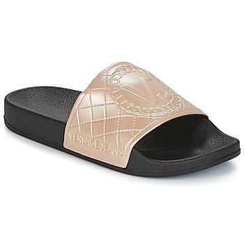 Schuhe Damen Pantoletten Versace Jeans E0VRBSH1 Gold