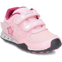 Schuhe Kinder Sneaker Low Geox Junior Jocker Rosa