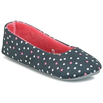 Schuhe Damen Hausschuhe DIM D BELINDA Grau / Rose