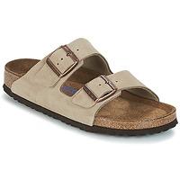 Schuhe Damen Pantoffel Birkenstock ARIZONA SFB Maulwurf