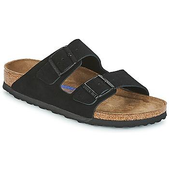 Schuhe Damen Pantoffel Birkenstock ARIZONA SFB Schwarz