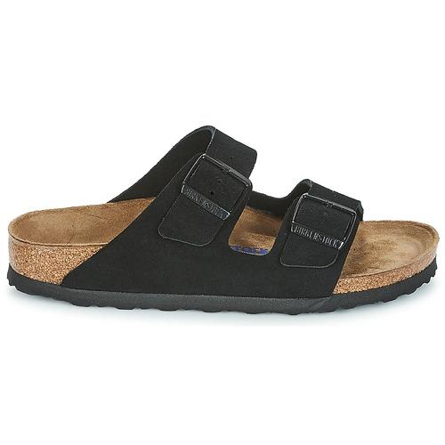 Birkenstock ARIZONA SFB Schwarz Schuhe Pantoffel Damen 75,99