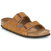 Schuhe Damen Pantoffel Birkenstock ARIZONA SFB Braun
