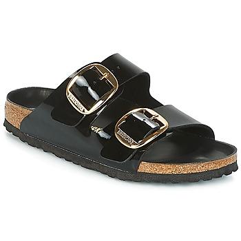 Schuhe Damen Pantoffel Birkenstock ARIZONA BIG BUCKLE Schwarz