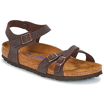 Schuhe Damen Sandalen / Sandaletten Birkenstock KUMBA SFB Braun